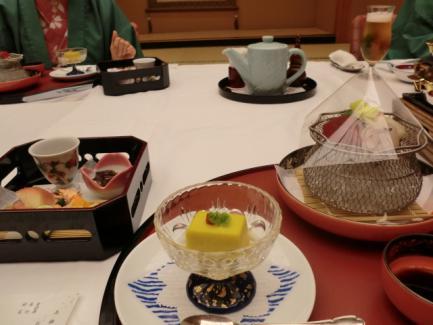 佳松苑 かぼちゃ豆腐