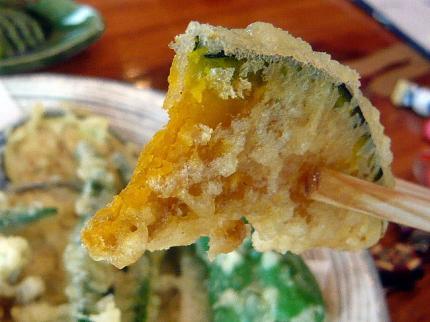 09-09-09 天ぷらかぼちゃ