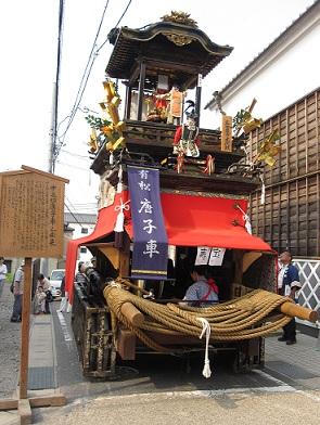 2011.中町山車
