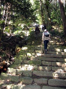 ひたすら登る:長命寺