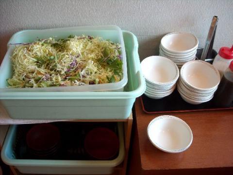 丸寿司・サラダ1
