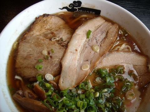 肉拉麺SEN古正寺店・ラーメン チャーシュー