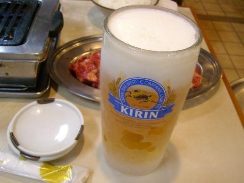 さんきらく・生ビール大