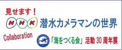 見せます!NHK潜水カメラマンの世界