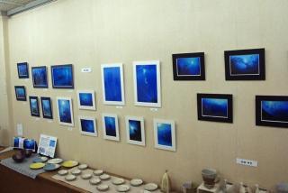 写真と陶の三人展