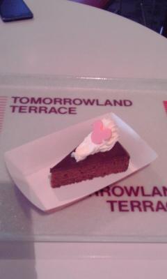 ネズミーランドのチョコケーキ