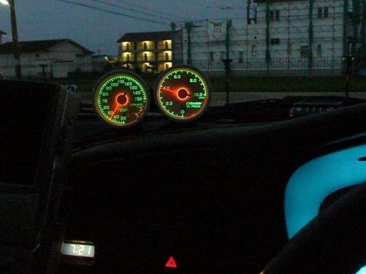 油圧&油温計