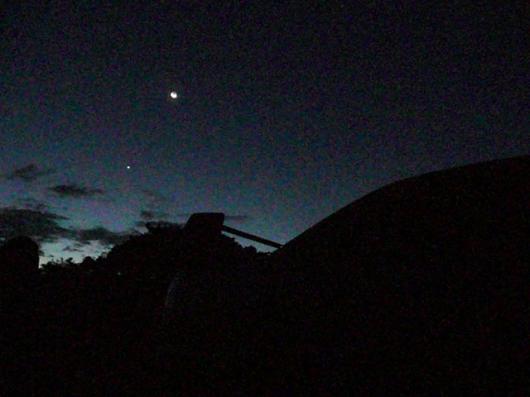 早朝 冬の星座