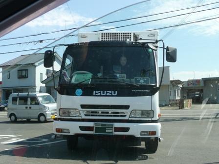トラック コンビニにて