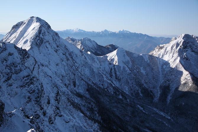 赤岳と阿弥陀岳