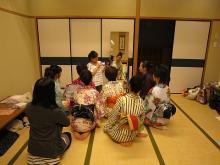 20110619 浴衣ショー練習
