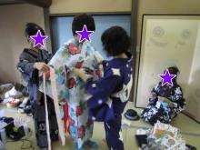 着付けメイク風景 (3) ★