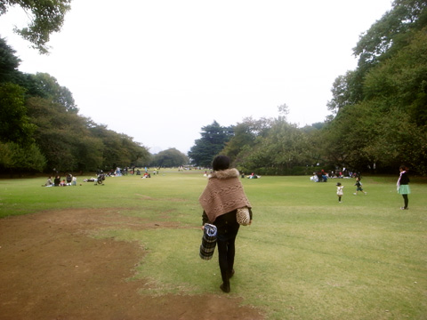 新宿御苑ピクニック