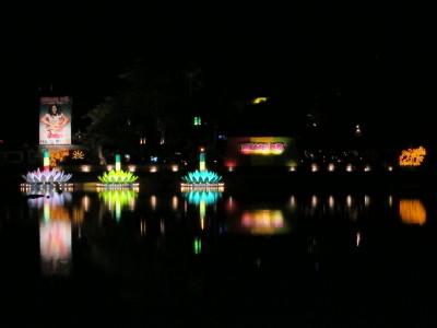 タイ、サムイ島、夜景