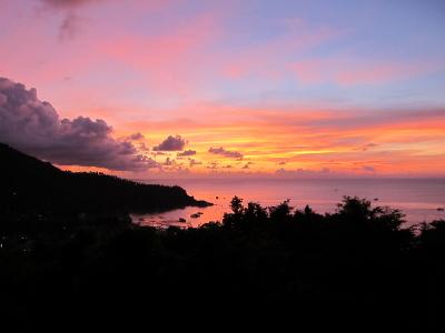 タオ島、夕焼け