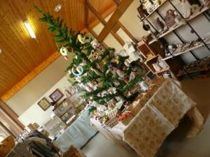 2階クリスマスコーナー