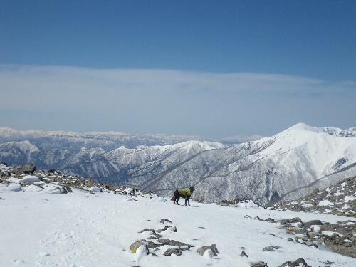 2011.04.01 茶臼岳登山ルート視察 024