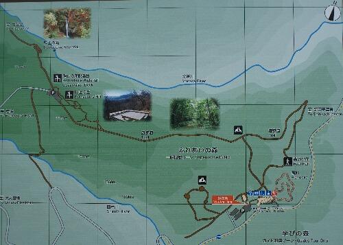 日光国立公園 平成の森 地図