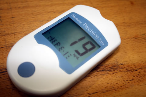 血糖測定器エラー