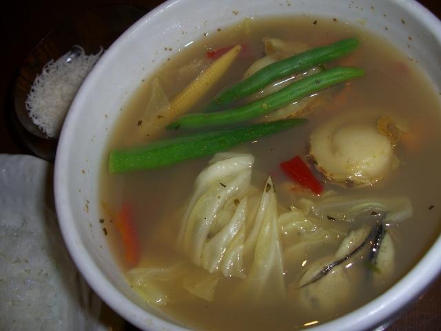 ホタテとカキ+チーズ_サイゴン(フエ)_20071223