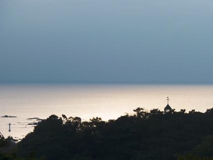 灯台と教会