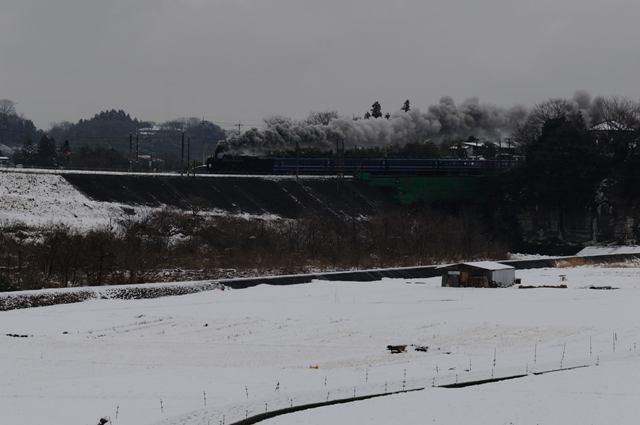 信越本線 C6120 上碓井川橋梁