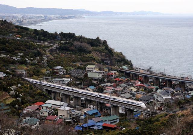 東海道新幹線 300系J57編成 石橋山
