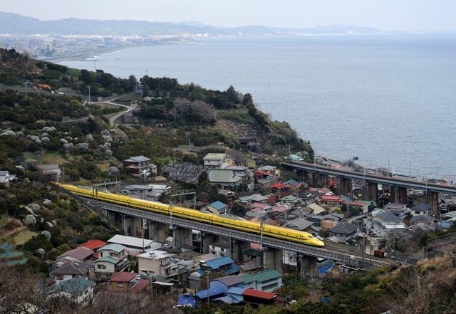 東海道新幹線 ドクターイエローT4編成 石橋山