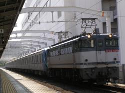 東京メトロ10000系甲種輸送03