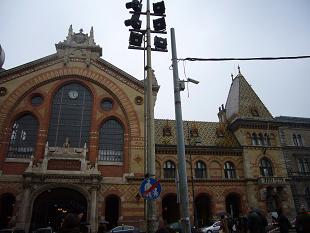 P1020887  ブダペスト  中央市場 建物