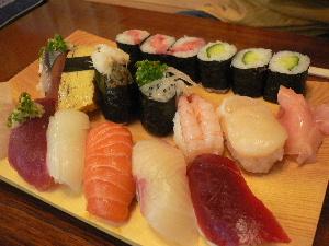ランチ寿司大盛り