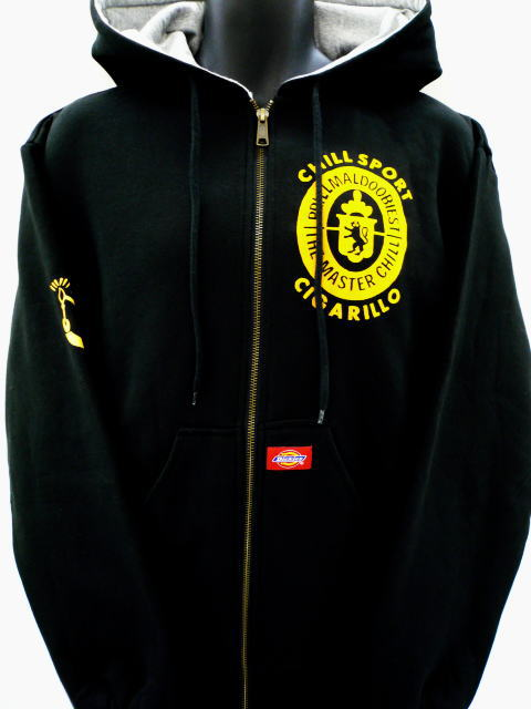 PRILLMAL CIGARILLO UNIVERSITY ZIP HOOD