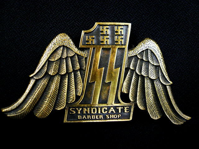 SYNDICATE BARBER SHOP NO-1 BUCKLE