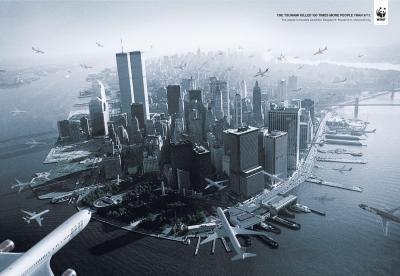 WWF Brasil: Tsunami