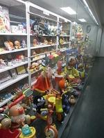 アンパンマンのおもちゃの数々