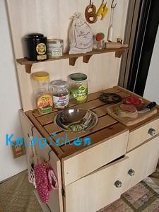 芽キャベツのキッチン