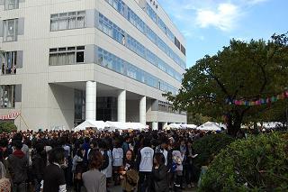 明治大学学園祭(08)キャンパス