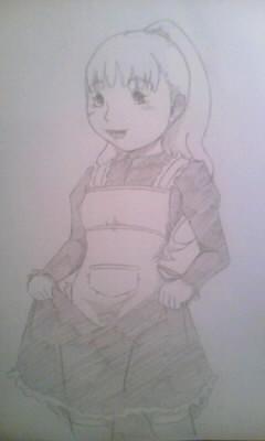 中世女の子