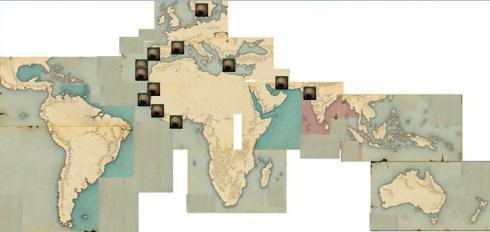 アフロ勢力図