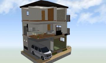 佃3新築邸宅 2階部分