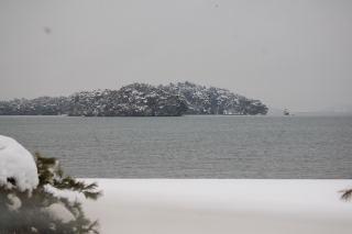 雪の松島2
