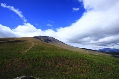 西峰より浅間山