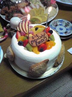 2歳誕生会ケーキ