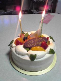 誕生日ケーキ第二弾!