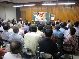 090810明戸地区演説会