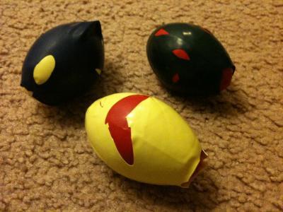 Jugglling balls