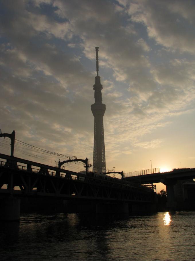 夜明けの スカイ・ツリー  2_20111129191406