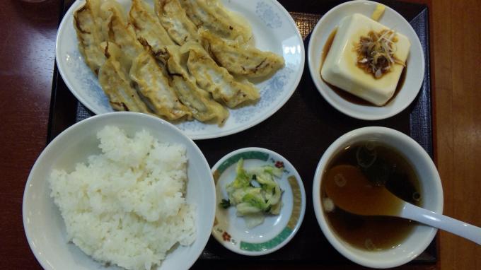 W餃子定食_20111117