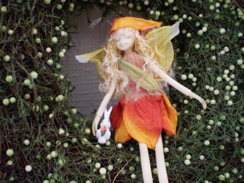 妖精とうさぎ