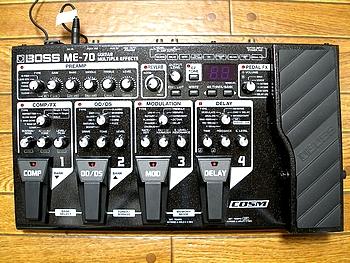 BOSS コンパクトマルチエフェクターME-70